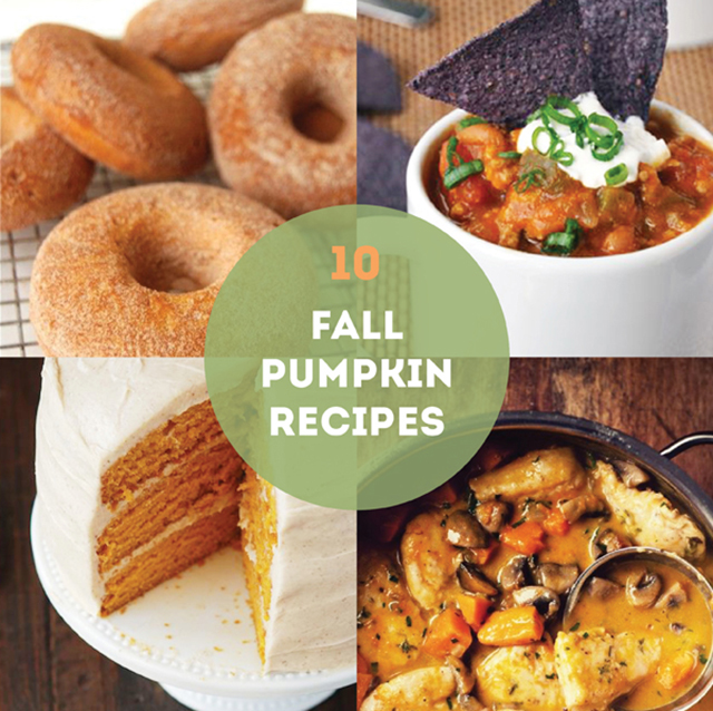 GOOD EATS: pumpkin recipes