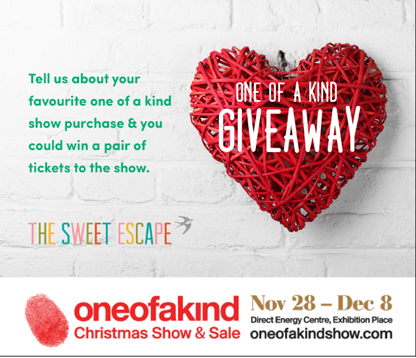 one of a kind show ticket contest