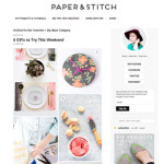 DIY Lip Gloss by the Sweet Escape featured on Paper and Stitch