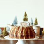 eggnog cake christmas holiday recipe