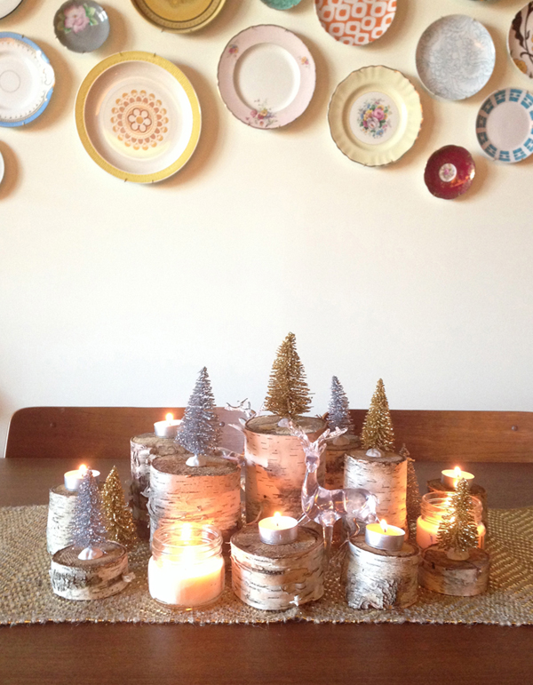 holiday birch centrepiece 5