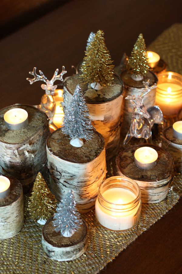 holiday birch centrepiece 9