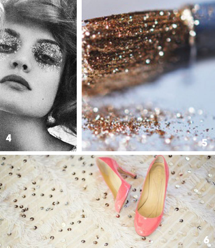 sparkle color and photo inspiration
