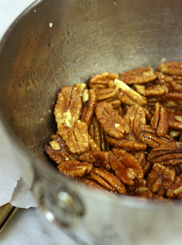 sweet spicy candied nuts