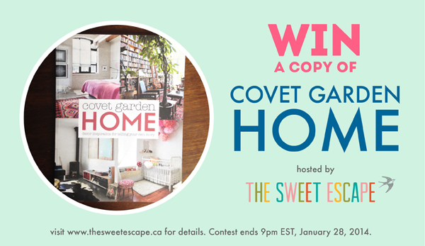 covet garden home giveaway