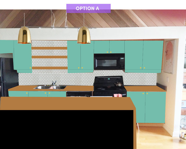 kitchen option A