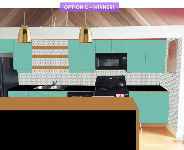 kitchen option C