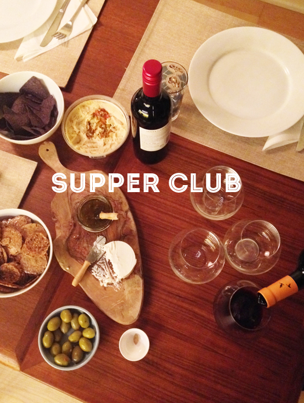 {GOOD EATS: supper club}