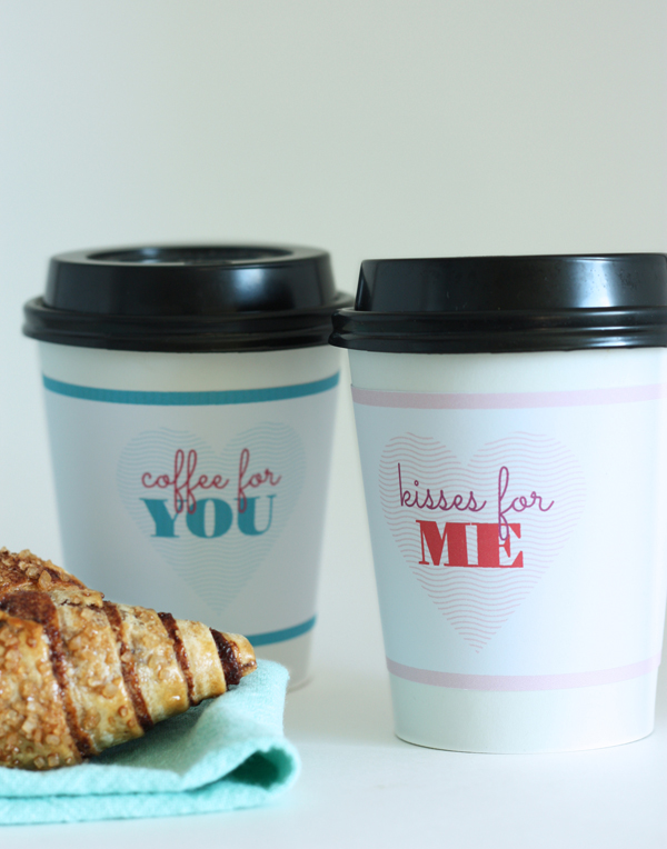 valentine coffee cup sleeve 2
