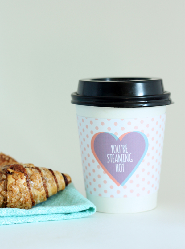 valentine coffee cup sleeve 3