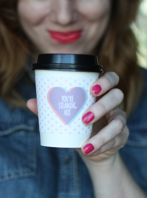valentine coffee cup sleeve 4