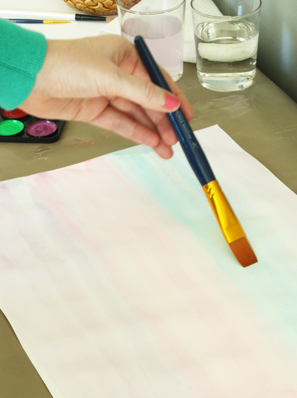 DIY watercolor wrap 10