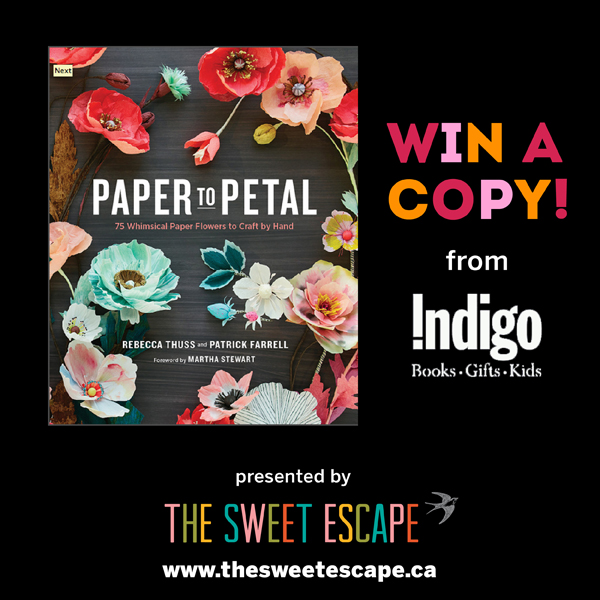 paper to petals book giveaway