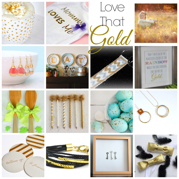 gold DIY projects st patricks
