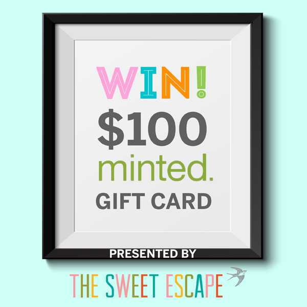 minted $100 giveaway