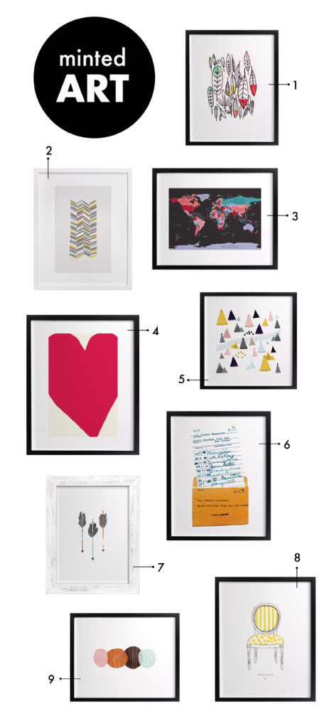 {PAPER PARTY: art for your walls + minted giveaway}