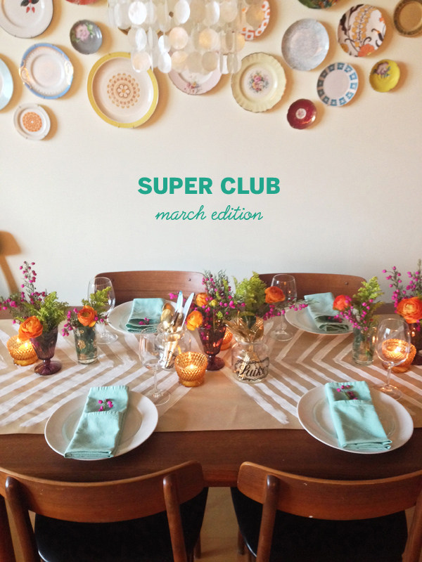 {GOOD EATS + DRINKS: supper club}