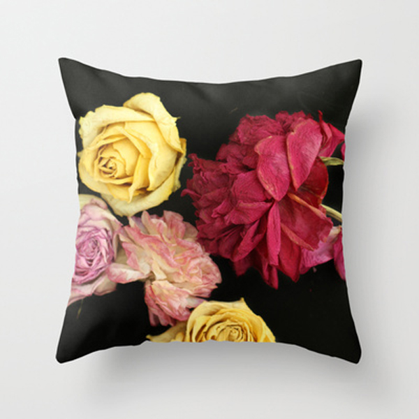sweet escape floral pillow