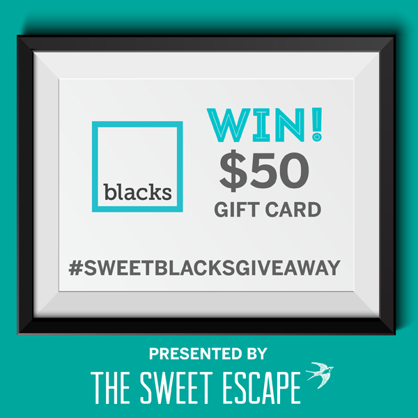 Blacks Photo Gift Card Giveaway / The Sweet Escape