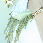 DIY tshirt ombre scarf / THe Sweet Escape