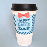 free Printable Father's Day coffee sleeve