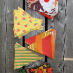 DIY fabric scrap bunting / THe Sweet Escape