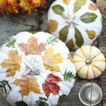Natural Fall Pumpkin Decor / The Sweet Escape