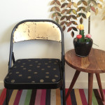 Folding Chair Makeover / The Sweet Escape