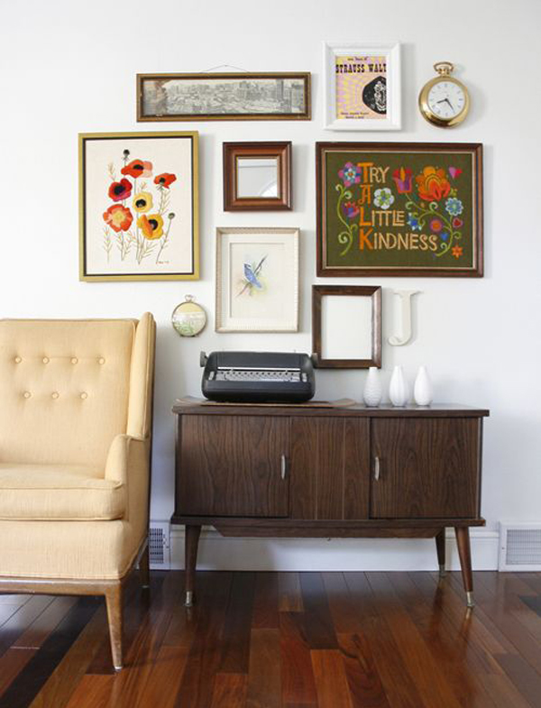 {SPACES: 10 gallery walls that inspire}