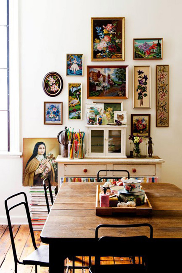 Spaces 10 Gallery Walls That Inspire The Sweet Escape
