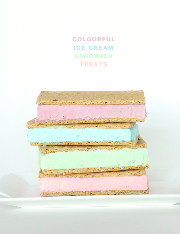 GOOD EATS: colourful ice-cream sandwich treats