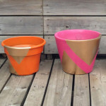 Patio Planters Makeover