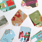Holiday DIY: Recycled gift tags / The Sweet Escape