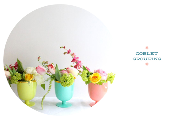 Spring flowers for your Easter table / The Sweet Escape