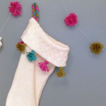 DIY sweater stocking / The Sweet Escape