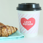 free Printable Valentine coffee sleeves / The Sweet Escape