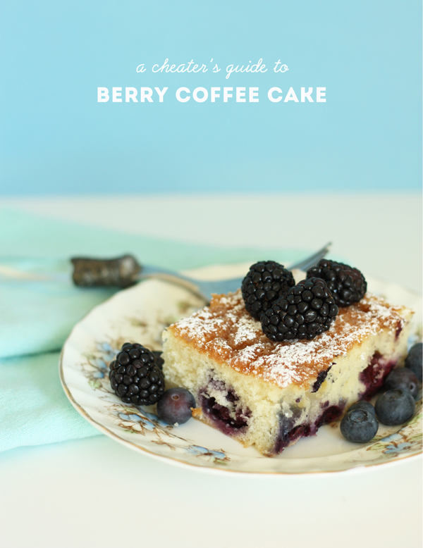 A Cheater's Guide to Berry Coffee Cake / The Sweet Escape Recipe
