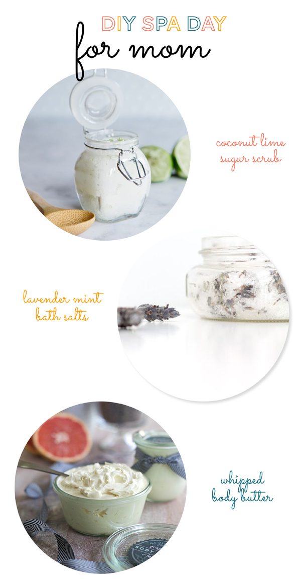 DIY Spa Day at Home for Mom / The Sweet Escape