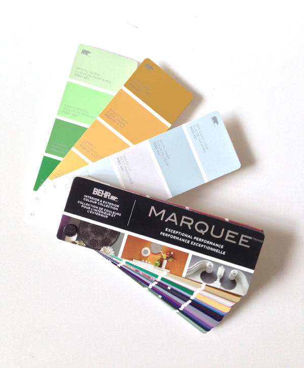 Behr Marquee Paint collection / The Sweet Escape