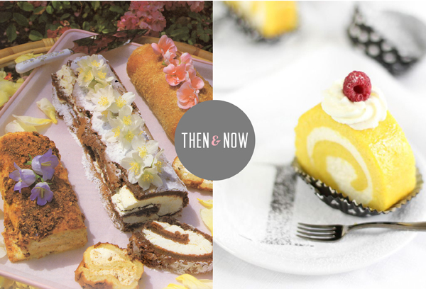 Then and Now Recipes: Cake Roll / The Sweet Escape