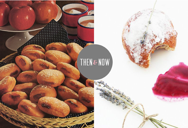 Then and Now Recipes: Jam donut / The Sweet Escape