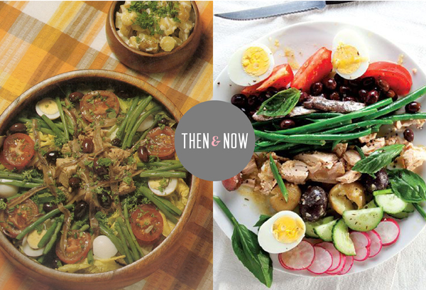 Then and Now Recipes: Nicoise salad / The Sweet Escape
