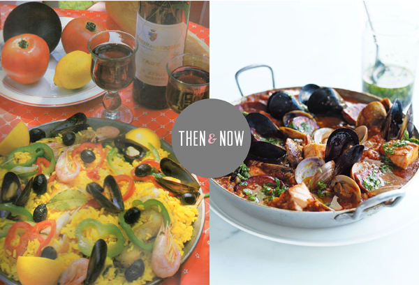 Then and Now Recipes: Paella / The Sweet Escape