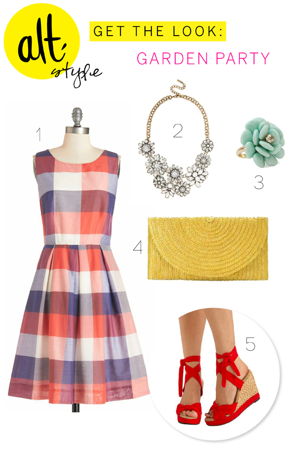 Alt Summit Style: Get the look / Garden Party  - The Sweet Escape