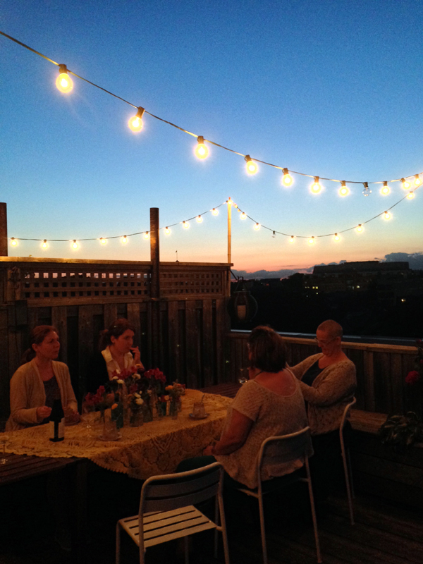 summer rooftop wine & dine / The Sweet Escape