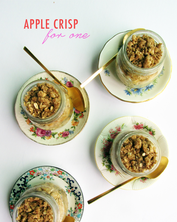 Individual Serve Apple Crisps / The Sweet Escape