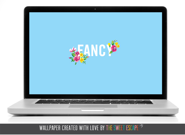 Free Fancy desktop wallpaper download By The Sweet Escape