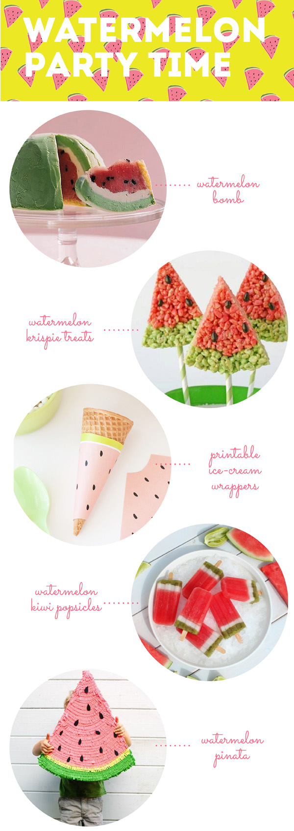 Watermelon Party Ideas / The Sweet Escape