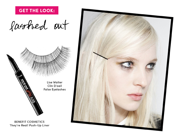 5 Fall Beauty Trends to Try: Lashed out / The Sweet Escape