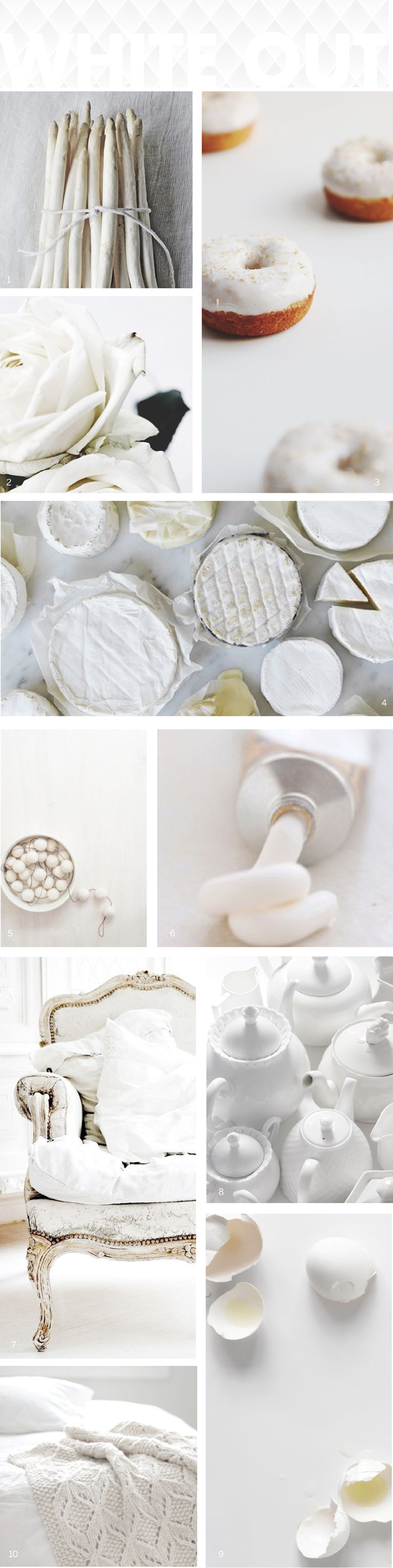 Color Story: White / The Sweet Escape